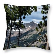 Rocky Mountain National Park 3 Throw Pillow
