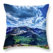 Rocky Mountain National Park I Throw Pillow