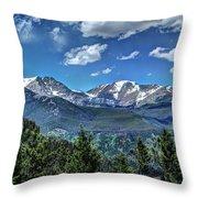 Rocky Mountain National Park IIi Throw Pillow