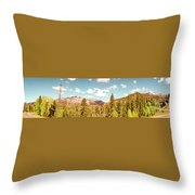 Rocky Mountain Panorama Too Throw Pillow