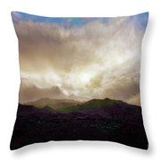 Rocky Mountain Sky Throw Pillow