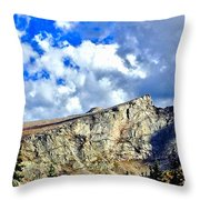Rocky Mountain Summit Throw Pillow