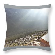 Rocky Mountain Sunbeam II Throw Pillow