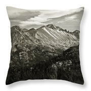 Rocky Mountain Wonders Throw Pillow