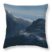 Rocky Mts Mtn M 202 Throw Pillow