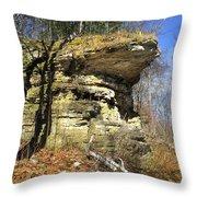 Rocky Outcrop Throw Pillow