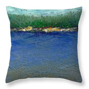 Rocky Point Dream At Bass Lake Throw Pillow