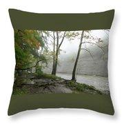 Rocky River #2 Throw Pillow