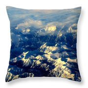 Rocky Tops Throw Pillow by Al Bourassa