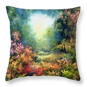 Rococo Delight Throw Pillow