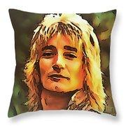 Rod Stewart Collection 1 Throw Pillow