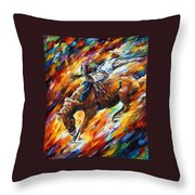 Rodeo - Dangerous Games Throw Pillow