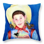 Rodeo Magic Throw Pillow