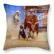 Rodeo Rider Down Throw Pillow