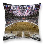 Rodeo Time In Texas Throw Pillow