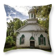 Rodney Baptist Church Throw Pillow
