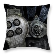 Rods And Bolts Throw Pillow