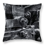 Rods Of Steel Throw Pillow
