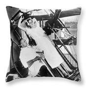 Roentgen X-ray Machine Throw Pillow
