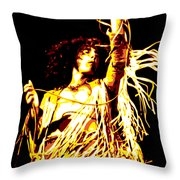 Roger Daltrey Throw Pillow