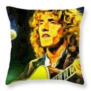 Roger Daltrey - The Who Throw Pillow