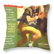 Roger Staubach 11-29-63 Throw Pillow