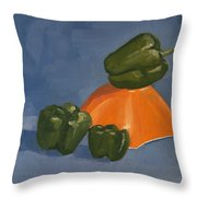 Role Model Throw Pillow