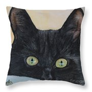 Rolfje Throw Pillow
