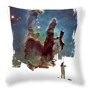 Roll On Throw Pillow