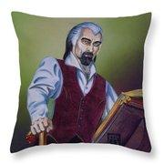Rolland Loussarian Throw Pillow