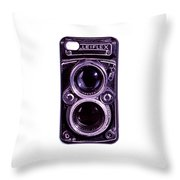 Eye Rolleiflex Euphoria Throw Pillow by Joseph Mosley