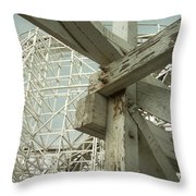 Roller Coaster 2 Throw Pillow