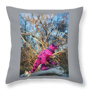 Rolling Ahead Throw Pillow