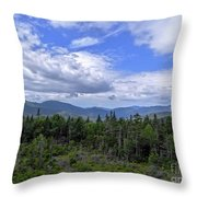 Rolling Clouds Throw Pillow