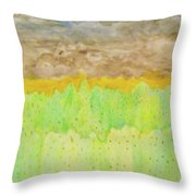 Rolling Heavens Throw Pillow