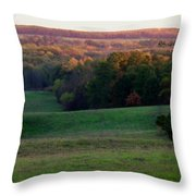 Rolling Meadow Throw Pillow