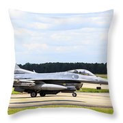 Rolling To Position Throw Pillow