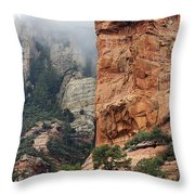 Rollings Mists Throw Pillow