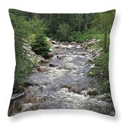 Rollingstone River Throw Pillow