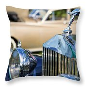 Rolls-royce Throw Pillow
