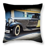 Rolls-royce Phantom II 1929 Throw Pillow