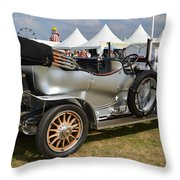 Rolls Royce Silver Ghost Throw Pillow