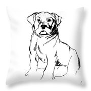 Roly Poly Throw Pillow