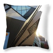 Rom  Sunset Throw Pillow