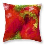Roma Tomatoes Throw Pillow