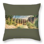 Roman Aqeduct I Throw Pillow