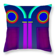 Roman Architecture Throw Pillow