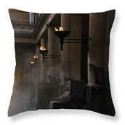 Roman Baths Throw Pillow
