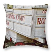 Roman Chewing Candy - Surreal Throw Pillow