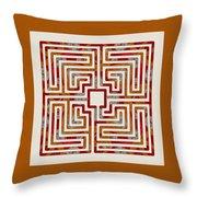 Roman - Earth Throw Pillow